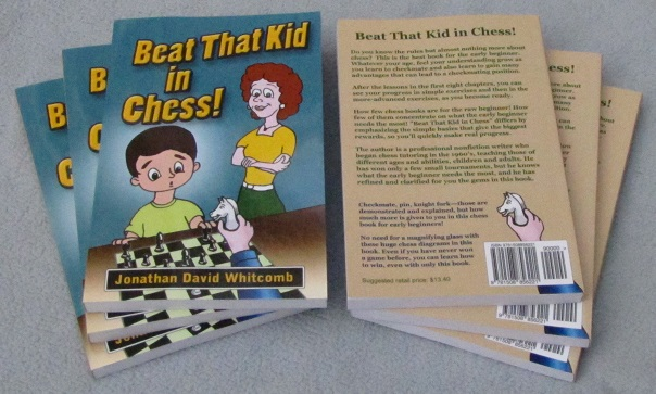 back and front covers of the chess book