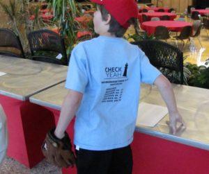 Student from Morningside Elementary School, Holladay, Utah